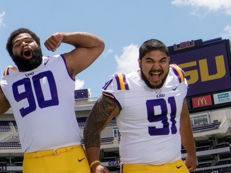 #StraightFromTheBush - LSU'S DEFENSE MAY BE ITS BEST HOPE FOR 2018. MEET THE PLAYERS AND COACH LEADI