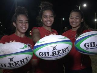 Kahuku Girl's Rugby brings home NIT Championship