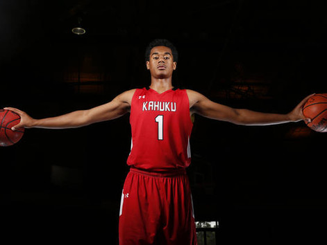 Kahuku's Tolu Smith is Boys All-State Basketball Player of the Year