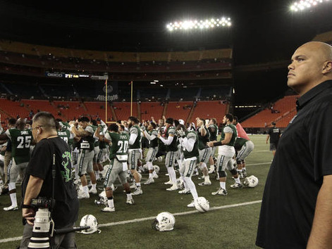 Naeole resigns as UH offensive line coach