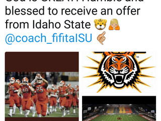 Idaho State offers Lauhingoa