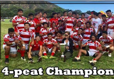 Kahuku Boys Rugby = 4peat State Champs!