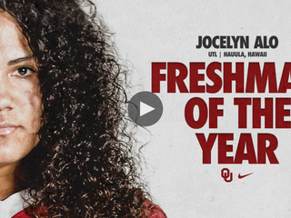 ALO NAMED NFCA FRESHMAN OF THE YEAR