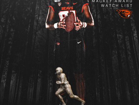 Congrats to @noahtogiai_04 on being named to the Mackey Award Watch List! #StraightFromTheBush [Full