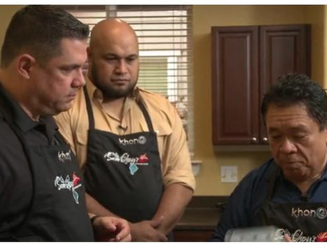 Sam Choy's in the Kitchen with Maake Kemoeatu and family