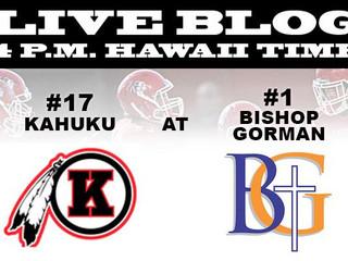 GAME NIGHT 9/17: Bishop Gorman /Kahuku