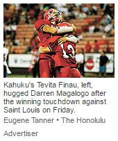 Kahuku's win rivals another 31 years ago