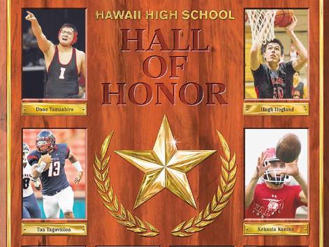 A great honor for Kesi, Kekaula, Kahuku, and Hawaii
