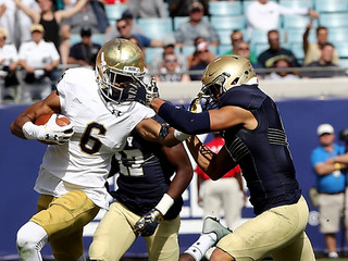 Brian Kelly thinks Alohi Gilman worth yearlong wait for Notre Dame
