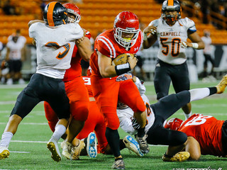 Kahuku holds off upset minded Campbell to advance
