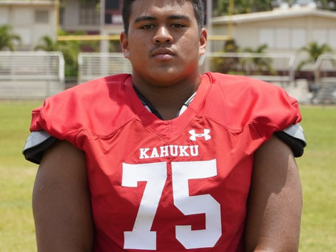 Interview: 2020 OL Micah Soliai-Howlett Running Rough Over Hawaii Competition