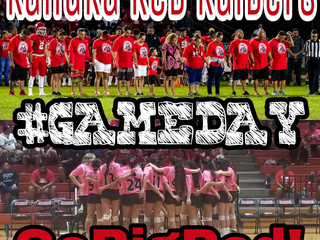 Separated but not Divided! Kahuku Red Raiders. #GAMEDAY. Go Big Red!