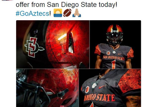San Diego State offers Reed