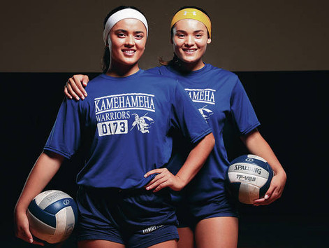 For Kamehameha sisters, volleyball is in their blood #StraightFromTheBush