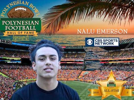 Kahuku's Emerson selected to Polynesian Bowl