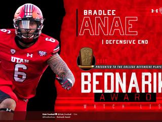 @bradleeanae named to the Bednarik Award Watch List