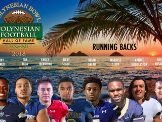 Congratulations to our reps for the 2018 Polynesian Bowl All-Star game
