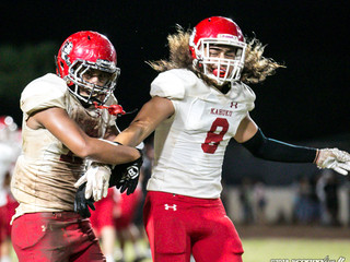 Red Raiders paced by defense in playoff opener