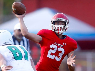 Kahuku's QB competition keeps going every day