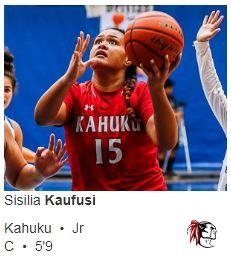 Congrats to Sisilia Kaufusi!