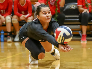 Mililani girls volleyball team secures OIA title in win over Kahuku
