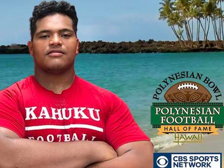 Kahuku center Marcus Lombard named Polynesian Bowl All-Star