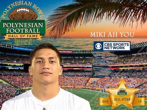 Kahuku's Miki Ah You named Polynesian Bowl All Star
