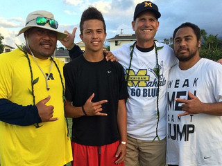 8th grade QB Sol-Jay Maiava says Michigan offer leads to motivation, pressure