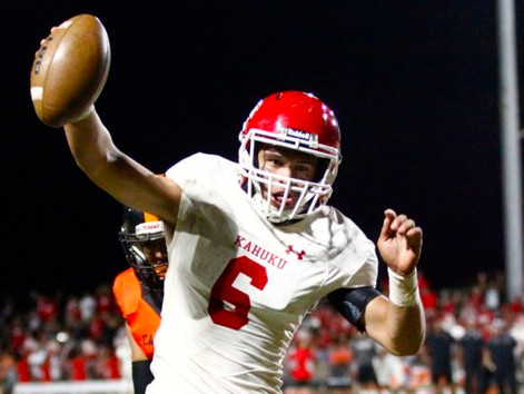 Maiava listed on St. John's Max Preps football roster