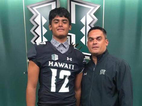 Kamehameha freshman Tausili Akana lands offers from Hawaii, BYU, Utah #StraightFromTheBush
