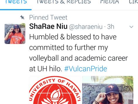 Congrats ShaRae!