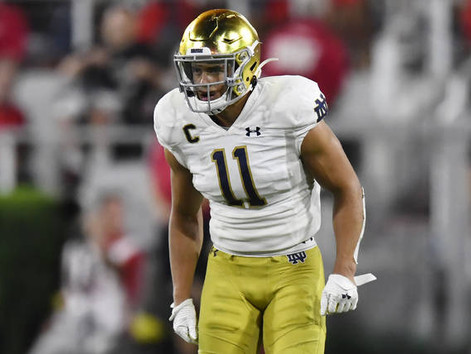 Everything's golden for Notre Dame safety Alohi Gilman