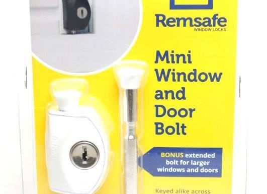 Remsafe Mini Window and Door Bolt