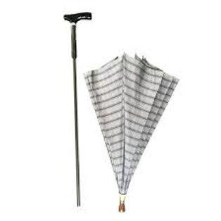 Umbrella walking stick