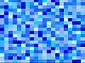 Georg Toth Design Rechtecke Blue