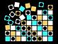 Georg Toth Design Hypno Dots Background Black