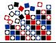 Georg Toth Design Hypno Dots Background White