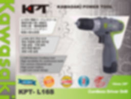 KPT 16V LI-ION battery drill