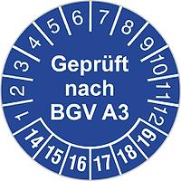 E-Check nach DGUV A3