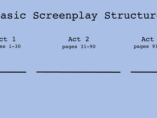 Day 8: Basic Screenplay Structure