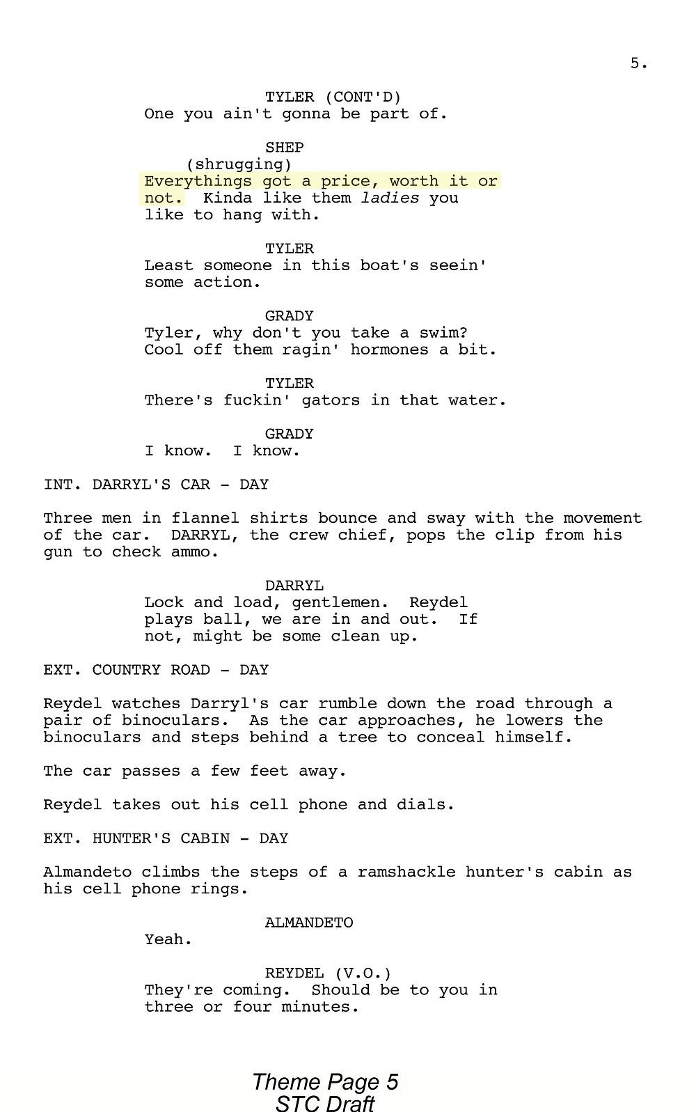 Theme Page 5