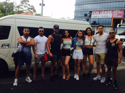Bling Bling Party Bus - Day Out with Friends Group Transfer