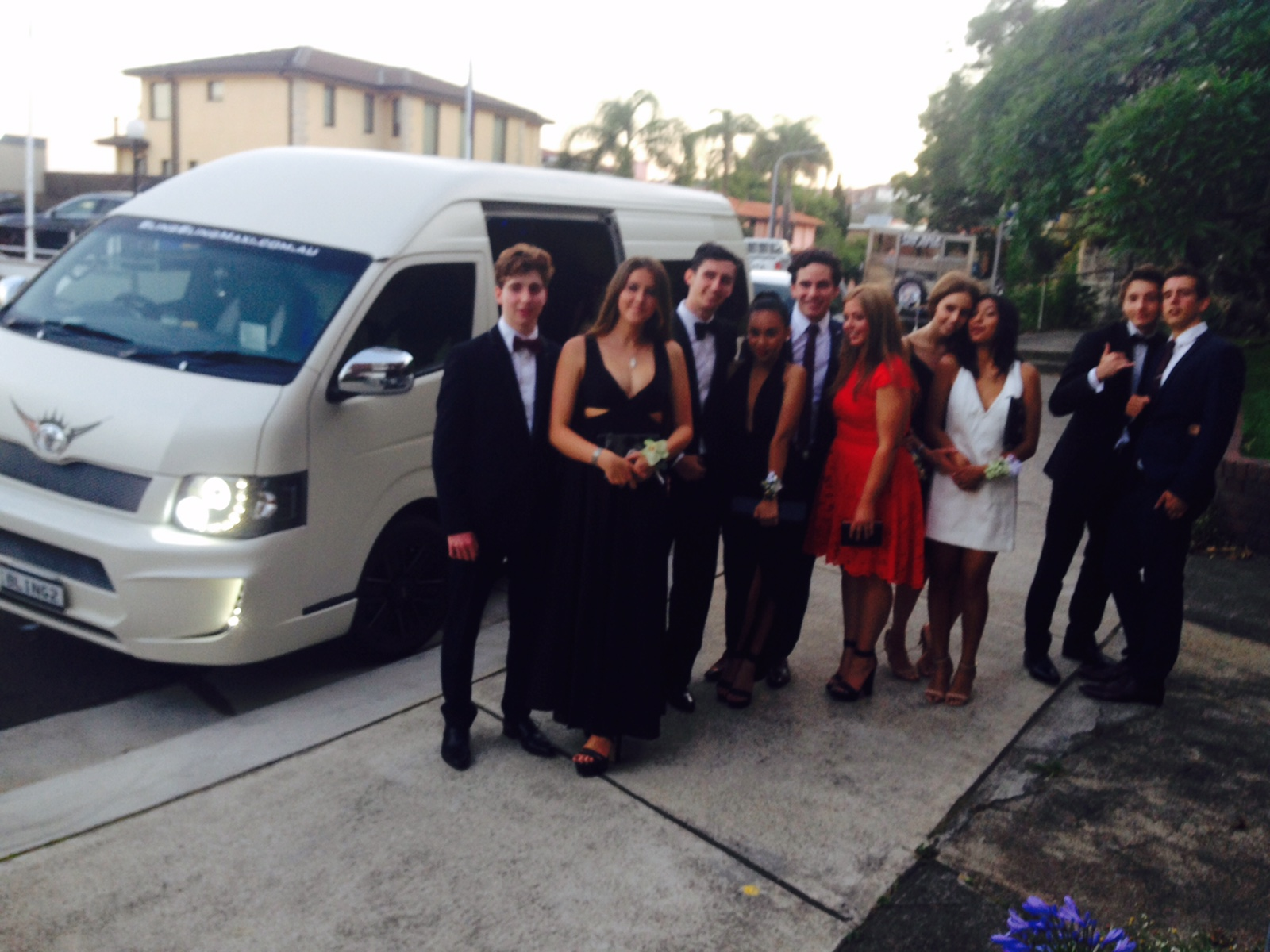 Bling Bling Mini Bus - Christmas Party Transfers