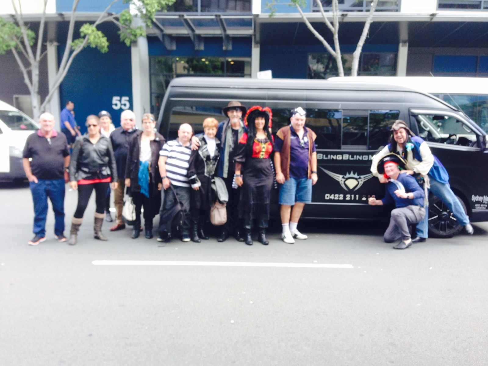 Sydney Party Bus Hire - Customer Experience Photo