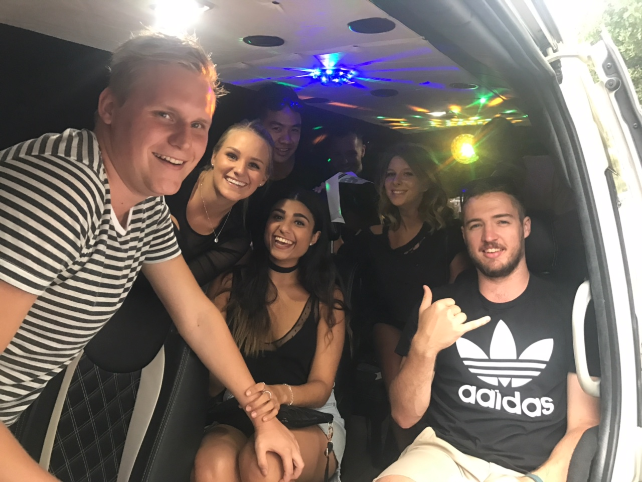 Bling Bling Party Bus - Sydney Night Club Transfers