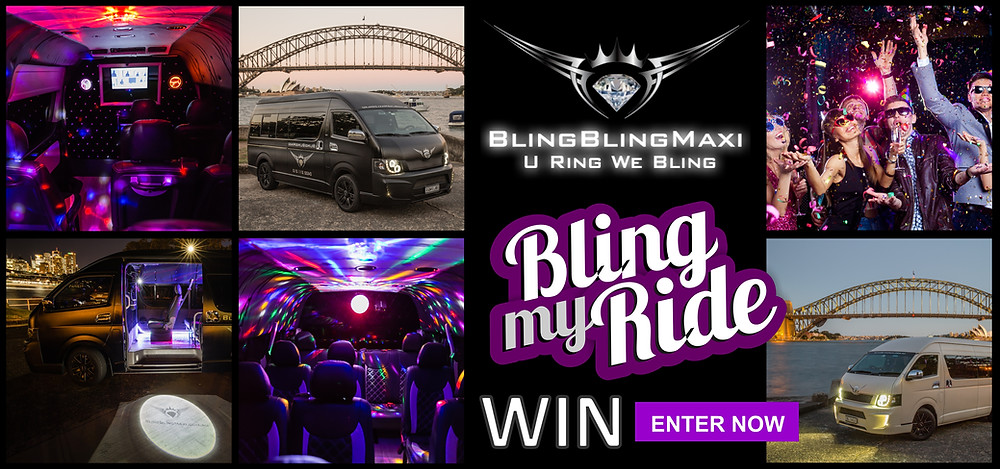 Free Sydney Party bus – Win Sydney party shuttle bus – Sydney mini bus shuttle – Sydney party shuttle