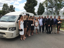 Bling Bling Maxi Party Bus - Race Course Group Transfer