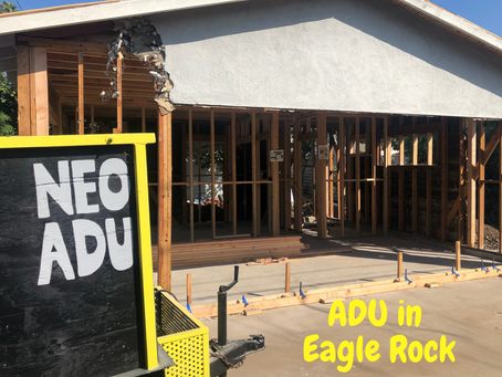 Build A New ADU In Eagle Rock