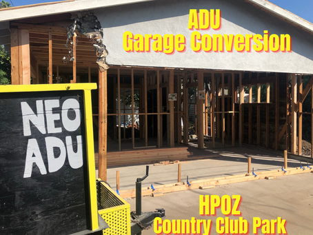 Building an ADU In The Country Club Park HPOZ
