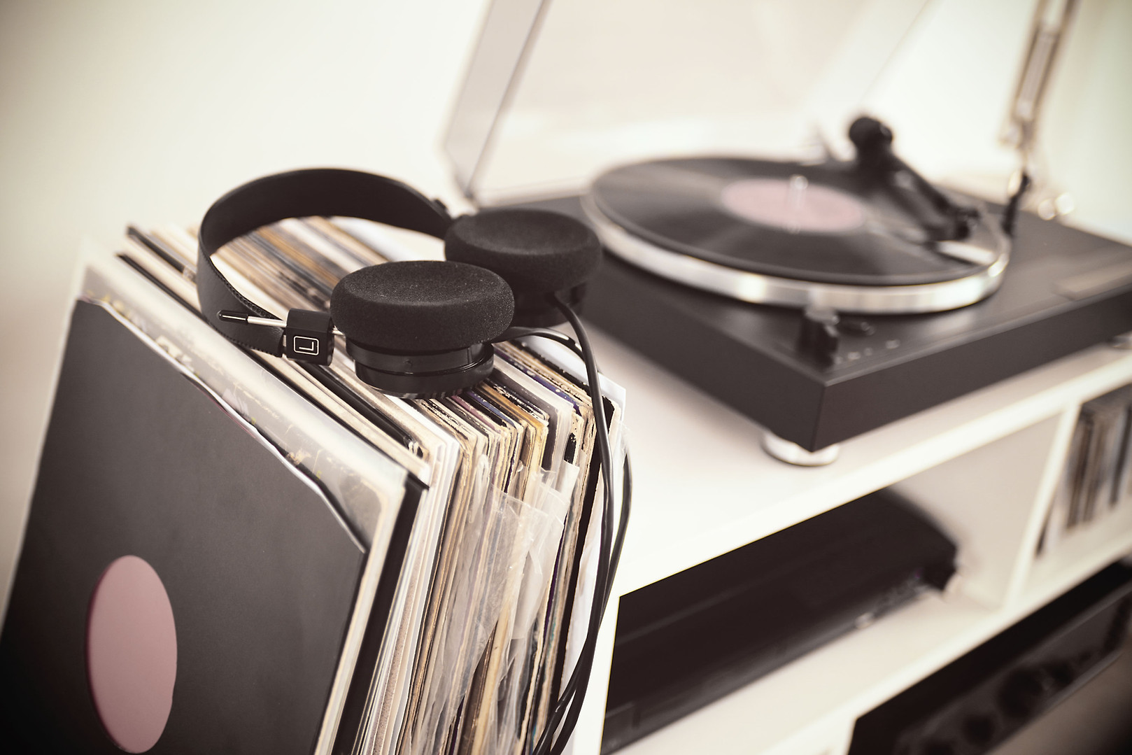 Record Player Station